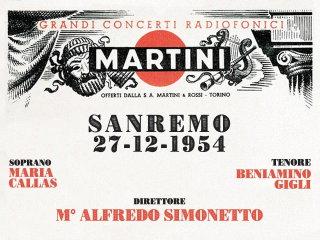 OPEREPLAY - CONCERTO MARTINI&ROSSI
